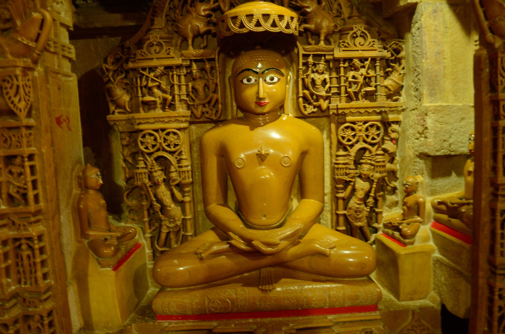Idol in Jain Temple
