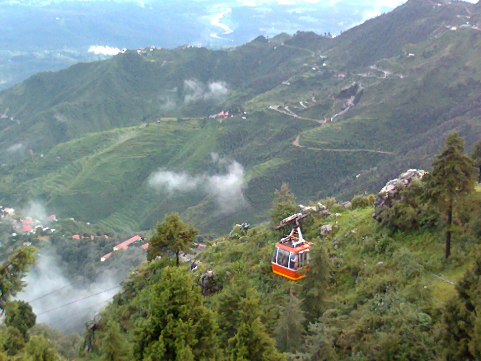 Gun Hill in Mussoorie