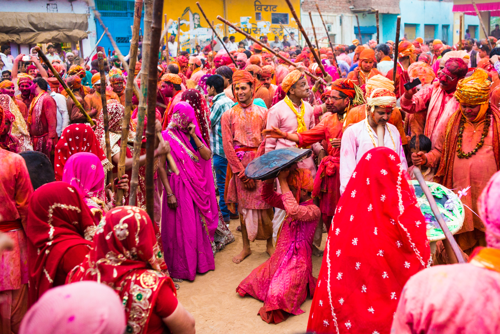 Holi in Banaras