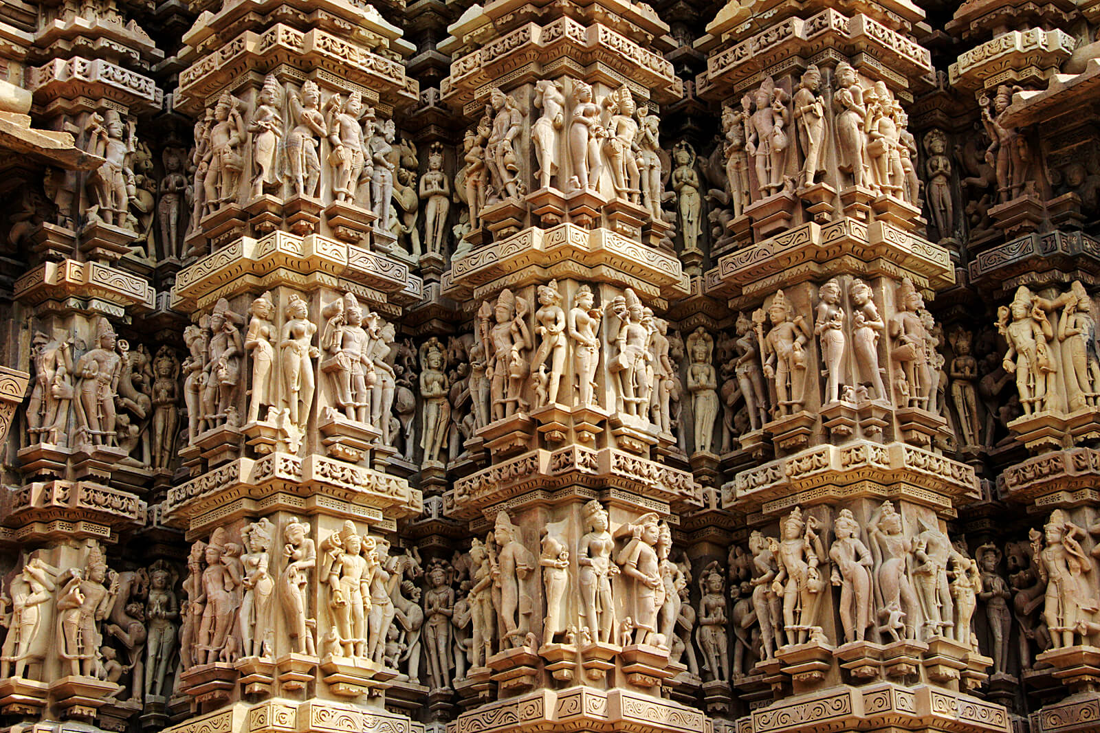 Carvings of Khajuraho