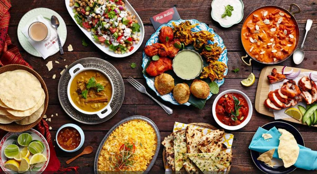 Food Destinations in India